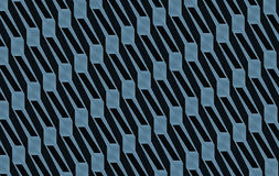 Blauw-grijs het met elkaar verbinden Abstract Art. Royalty-vrije Stock Afbeeldingen