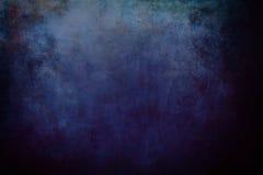 Blauw grungy canvas stock fotografie