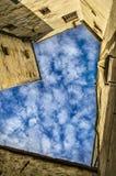 Blauw hart in Festung Hohensalzburg Stock Afbeelding