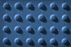 Blauw herhaal het Patroon van de Knop Stock Foto's