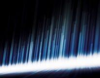 Blauw high-tech behang Royalty-vrije Stock Fotografie