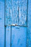 Blauw hout Stock Foto's