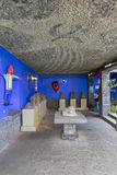 Blauw Huisla Casa Azul Stock Foto