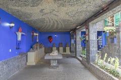 Blauw Huisla Casa Azul Stock Afbeelding