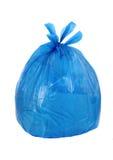 Blauw huisvuilba Stock Fotografie