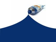 Blauw idee i Stock Foto