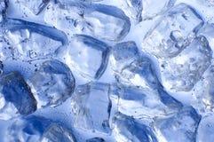 Blauw ijs Royalty-vrije Stock Foto's