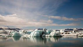 Blauw ijs Royalty-vrije Stock Foto