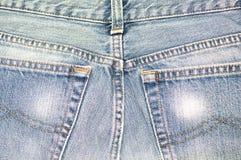 Blauw Jean Stock Foto