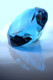 Blauw juweel Royalty-vrije Stock Afbeeldingen