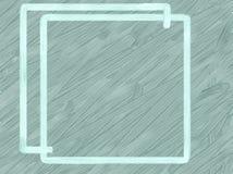 Blauw kader op een grijze weefselachtergrond royalty-vrije stock afbeelding