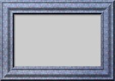 Blauw kader voor foto's Royalty-vrije Stock Afbeelding