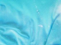 Blauw katoen voor behang stock foto