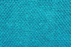 Blauw Katoenen Doekmateriaal Royalty-vrije Stock Afbeelding