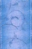 Blauw Klassiek behang Royalty-vrije Stock Afbeelding