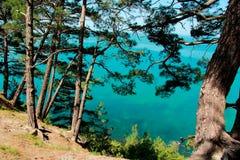 Blauw Kloof De Zwarte Zee Royalty-vrije Stock Afbeeldingen