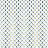 Blauw kobaltnet met gouden koninklijk patroon Royalty-vrije Stock Foto