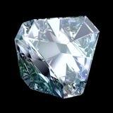 Blauw kristal vector illustratie