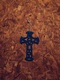 Blauw Kruis Royalty-vrije Stock Afbeeldingen
