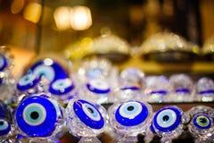 Blauw kwaad oog Stock Afbeeldingen