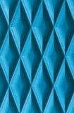Blauw leer met textuur of achtergrond royalty-vrije stock foto's