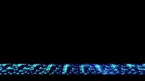 Blauw licht zwerm lager derde royalty-vrije illustratie