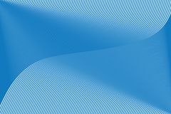 Blauw lijnpatroon stock afbeelding
