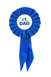 Blauw Lint voor Papa Royalty-vrije Stock Afbeeldingen