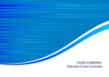 Blauw malplaatje als achtergrond Stock Fotografie