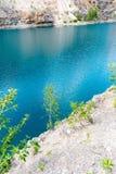 Blauw Meer stock foto