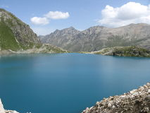 Blauw meer van Murudzhu Royalty-vrije Stock Foto's