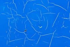 Blauw metaal Royalty-vrije Stock Foto