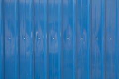 Blauw metaalblad Royalty-vrije Stock Afbeelding