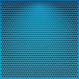 Blauw metaalnet Royalty-vrije Stock Afbeelding