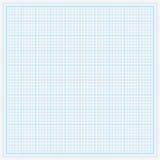 Blauw millimeterpapier Stock Fotografie