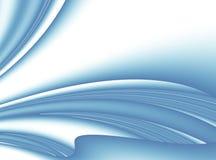 Blauw modern abstract fractal art. Heldere zachte illustratie als achtergrond Royalty-vrije Stock Fotografie
