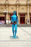 Blauw Monster Royalty-vrije Stock Foto