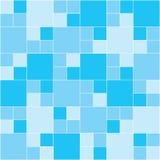 Blauw Mozaïek Royalty-vrije Stock Afbeelding