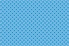 Blauw naadloos diagonaal netwerk Royalty-vrije Stock Afbeelding