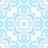 Blauw naadloos patroon Artistieke gevoelige zeep bubb royalty-vrije stock foto