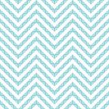 Blauw naadloos vectorpatroon Stock Foto's
