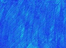 Blauw neonbehang Royalty-vrije Stock Foto's