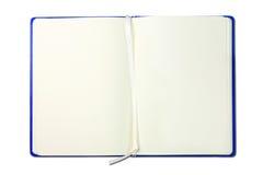 Blauw notaboek Royalty-vrije Stock Foto's