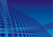 Blauw ontwerp Stock Fotografie