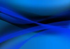 Blauw ontwerp als achtergrond Stock Foto