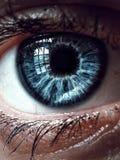 Blauw oog Royalty-vrije Stock Afbeeldingen