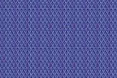 Blauw oud naadloos nylon stoffenpatroon Stock Foto