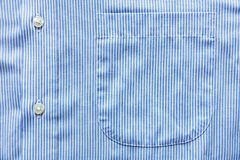 Blauw overhemd Royalty-vrije Stock Foto