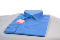 Blauw overhemd Royalty-vrije Stock Foto's