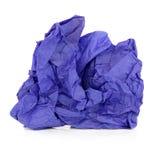 Blauw Papieren zakdoekje royalty-vrije stock fotografie